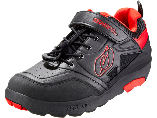 O'Neal Traverse Flat Zapatillas Hombre, black/red